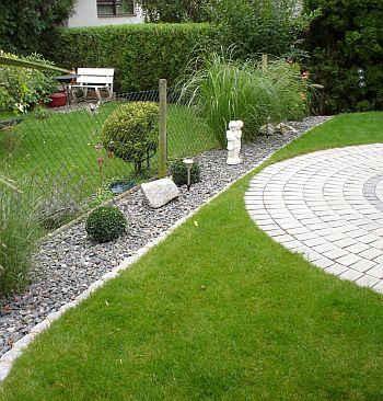 Gartengestaltung Heidelberg Beeteinfassungen